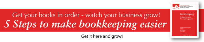 5 Steps to Make Bookkeeping Easier